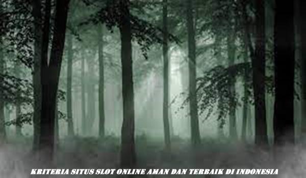 Kriteria Situs Slot Online Aman dan Terbaik di Indonesia